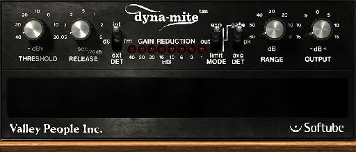 The Dyna-Mite - Don't be fooled by its simplicity, the Dyna-Mite has a lot of dynamic control packed into a small interface!