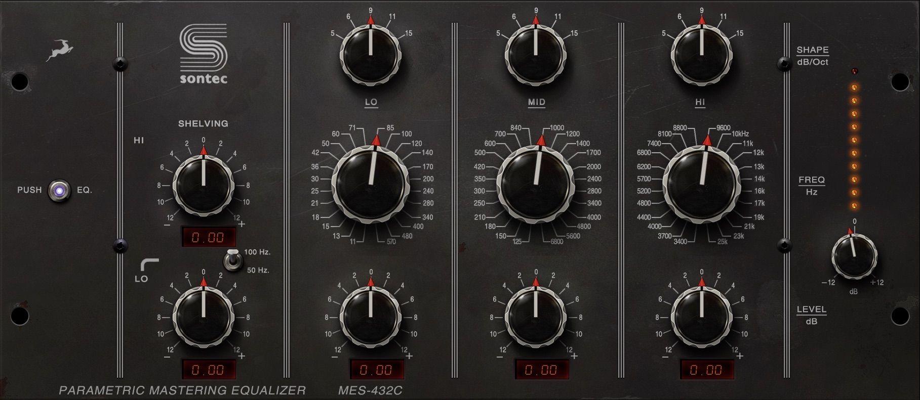 Sontec Mastering equalizer
