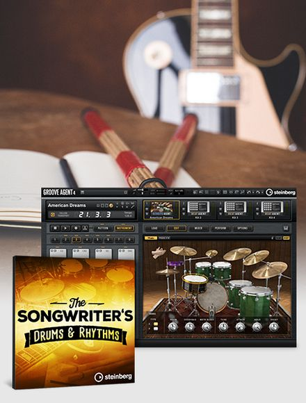 Steinberg's The Songwriter's for Groove Agent 4