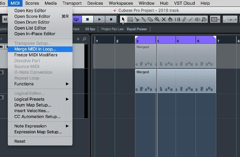 Edit the MIDI