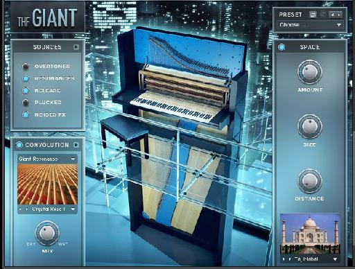 Native Instruments Giant Cinematic Instrument.