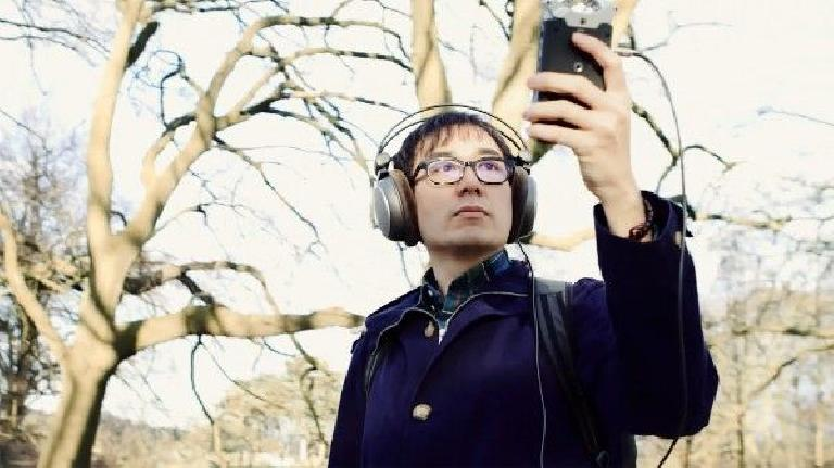 Sound-art designer Yuri Suzuki.