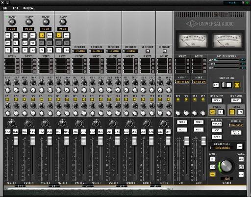 Apollo Console Software (Mixer)