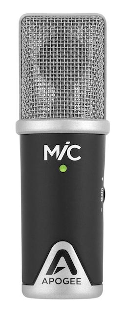 A pop-shield would be a good idea when recording vocals with 95% of all mics, including MiC.