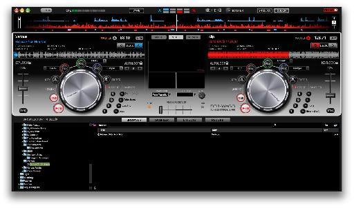Pioneer DDJ-WeGo screen.