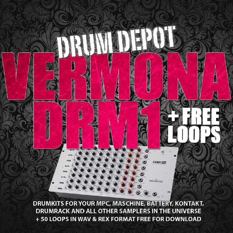 Drum Depot Vermona DRM1 + FREE Loops