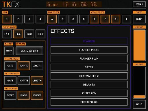 Unlock all TKFX effects with a $0.99 purchase.