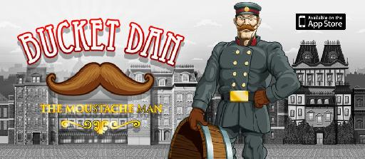 The popular Bucket Dan game for iPhone, iPad and iPod Touch.