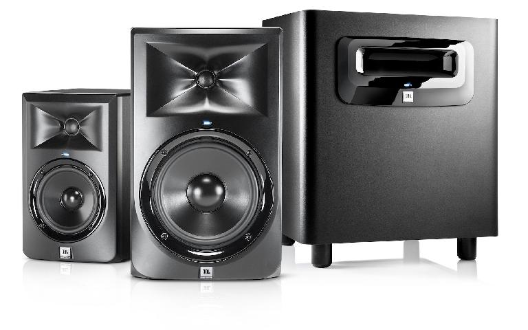 JBL 3 Series MkII Powered Studio Monitors