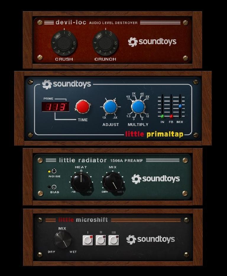 Sound toys Little Primaltap, Little Radiator, MicroShift