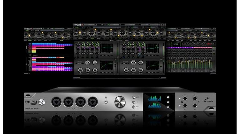 Antelope Audio Orion Studio with software.