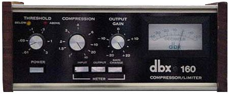 Fig 1 An original dbx 160 compressor