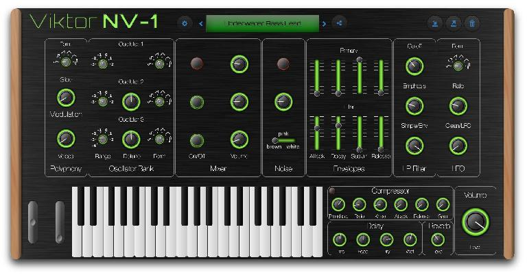 The most current version of the Viktor NV-1 interface.