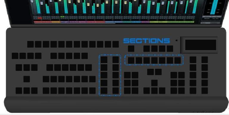 The keyboard on Micli One