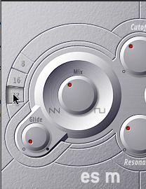 ES M Octave buttons