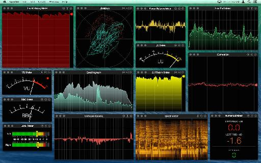 AudioFile Spectre 1.7 for Mac OS X.