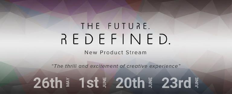 Roland The Future Redefined new product stream.