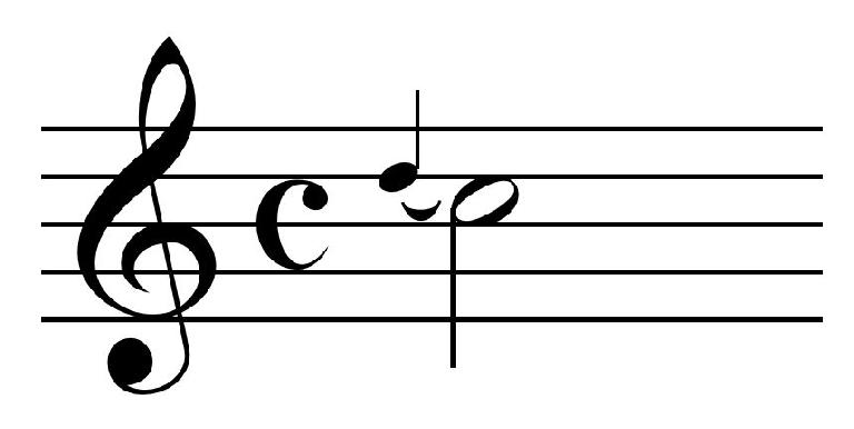 An appoggiatura can add a little dissonance to an otherwise bland melodic note