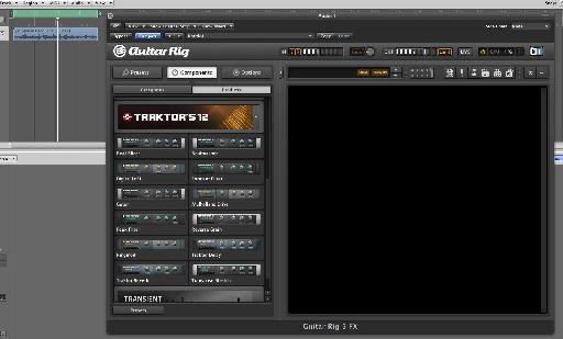 The Traktor's 12 within Guitar Rig Pro