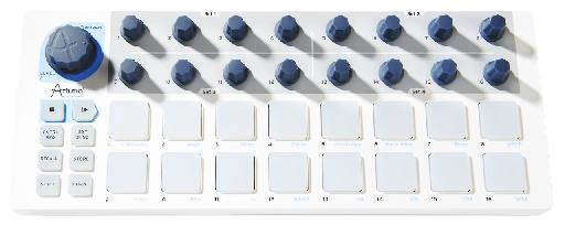 The Beatstep is built solidly and has an intuitive layout.