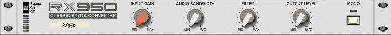 RX950 Classic AD/DA Converter