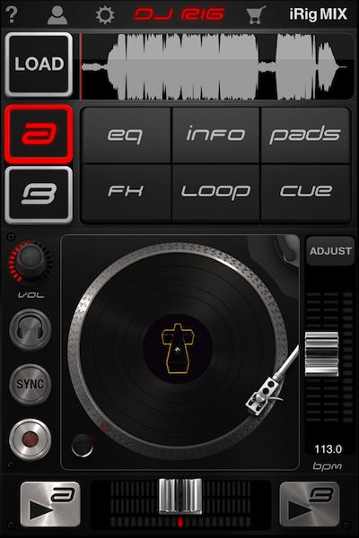 DJ Rigs GUI is certainly graphically impressive