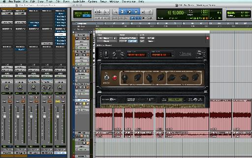 Pro Tools' Eleven Guitar Amp Simulator