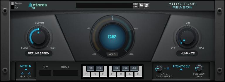 Auto-Tune in Reason Studios