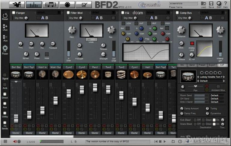 BFD Mixer