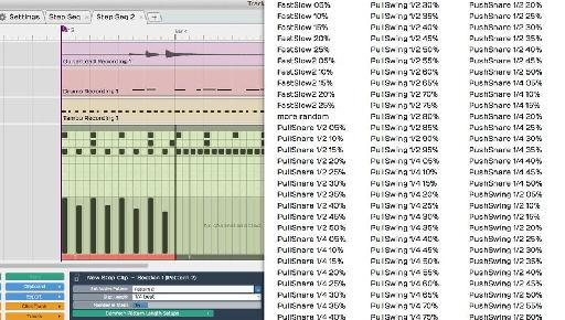 Tracktion 6 now features groove presets.
