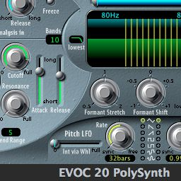 Assign the side chain source in the EVOC20