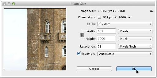 Image size first.