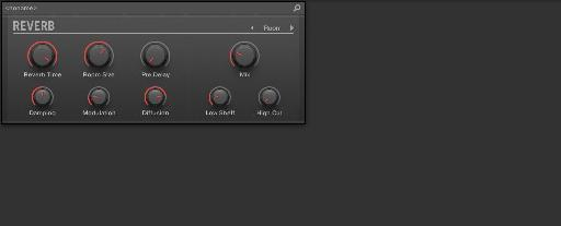 The new Reverb in Maschine 2.3.