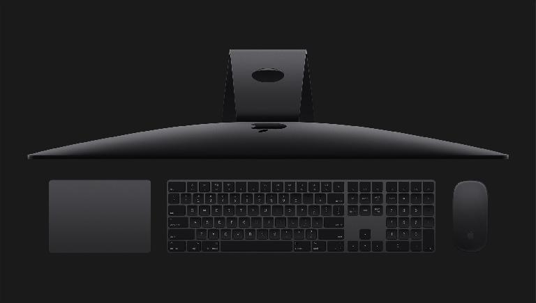 Dark space grey and a whole lot of speed, but it's not out yet, and it's pricey