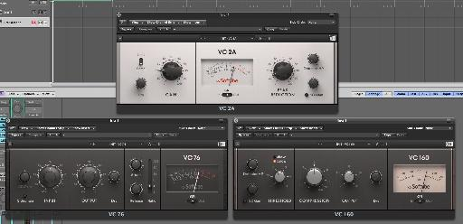 More classic compressors from Softube