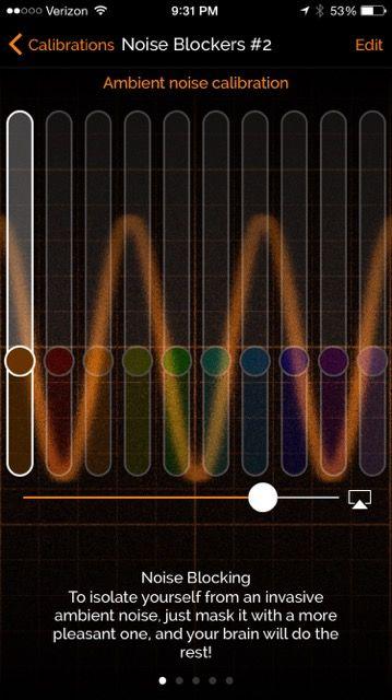 Figure 5—Ambient Noise Calibration Setting.