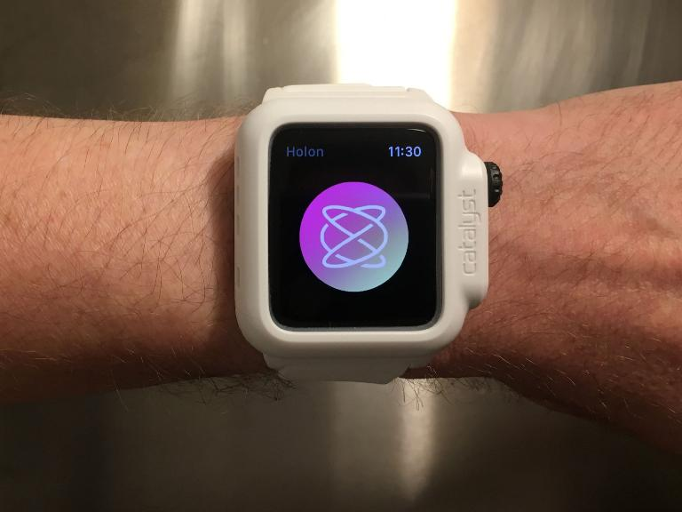 Holon Apple Watch app.