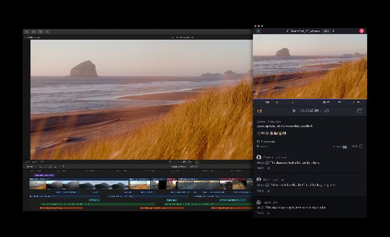 Having the frame.io service inside FCP X isn't just convenient — it allows for unique features too