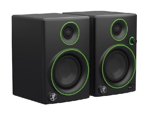 The new Mackie CR3 monitors.