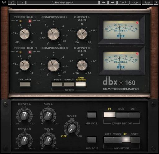 Waves dbx® 160 Compressor/Limiter plugin