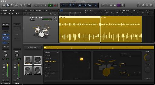 Logic Pro X's Drummer Tracks automatically improvise a groove to fit your track!