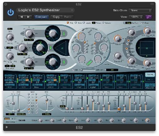 Fig 1 Logic's ES2 Synthesizer
