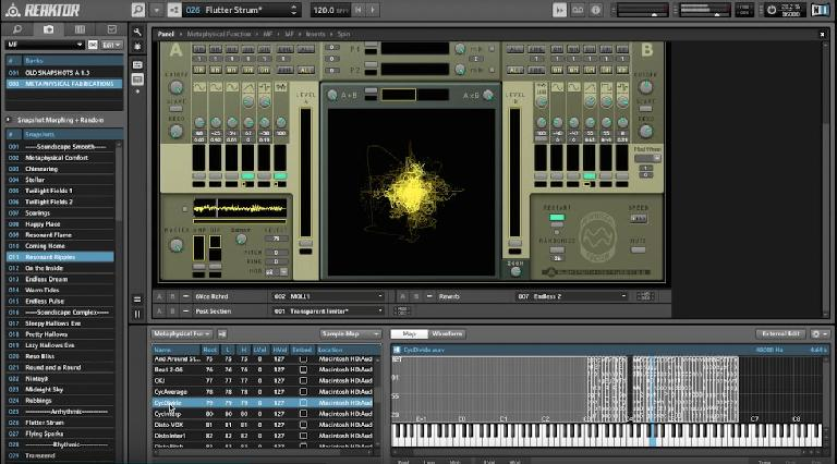 Metaphysical Fabrications in Reaktor