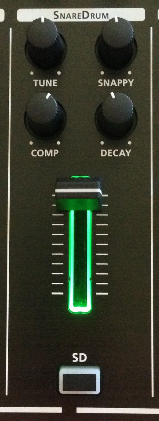 programming the TR-8 snares