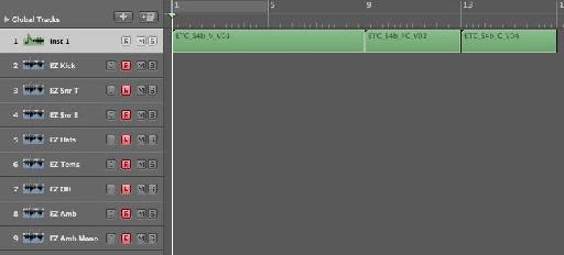Naming tracks before recording
