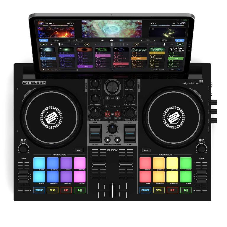 Reloop Buddy with iPad