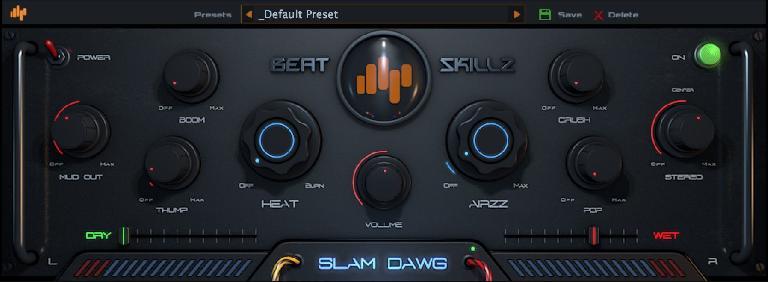 Beatskillz Slam Dawg Mastering Processing Plugin