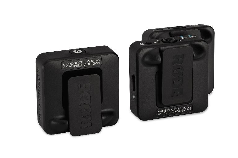 Rode Wireless GO II clips