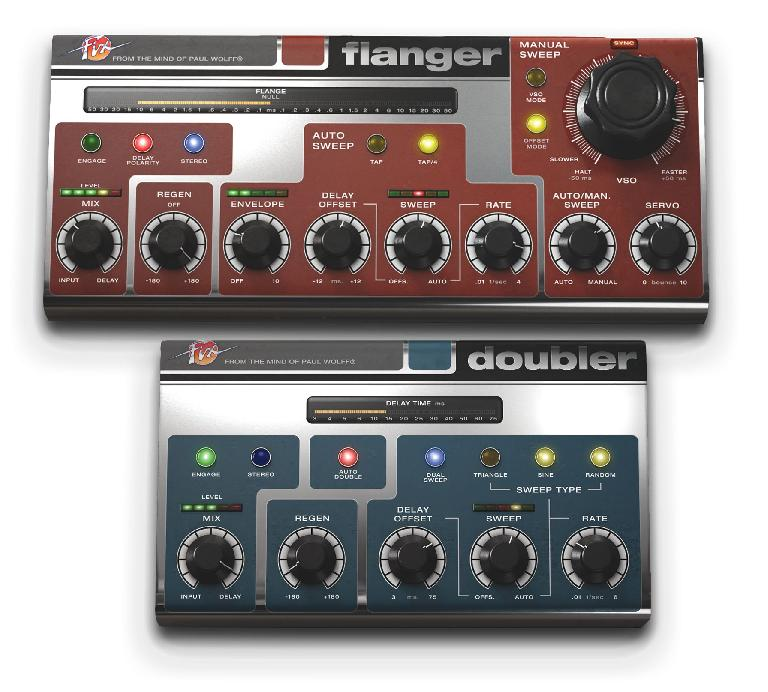 Softube's new Fix Flanger & Doubler plug-ins.