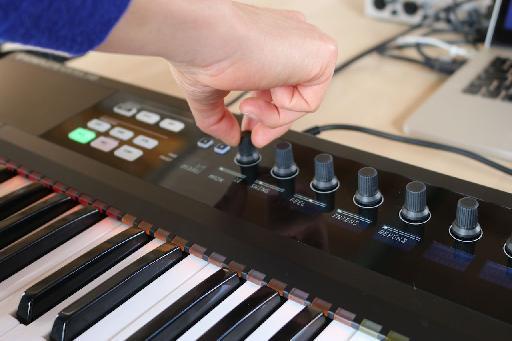 Komplete Kontrol S-Series keyboard